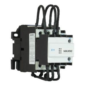 Contactor para condensador con mando en AC hasta 60kVAr