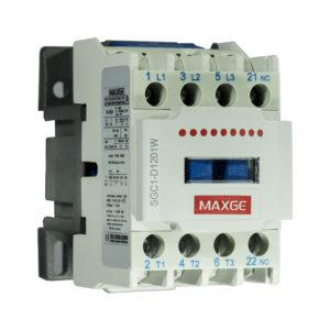 Contactor tripolar con mando en AC rango 9÷95A