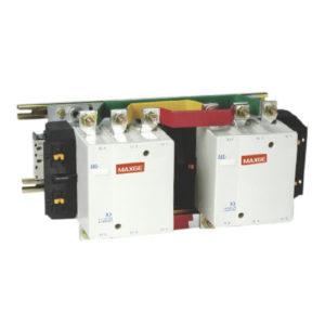 Contactor inversor con mando en AC rango 115÷780A