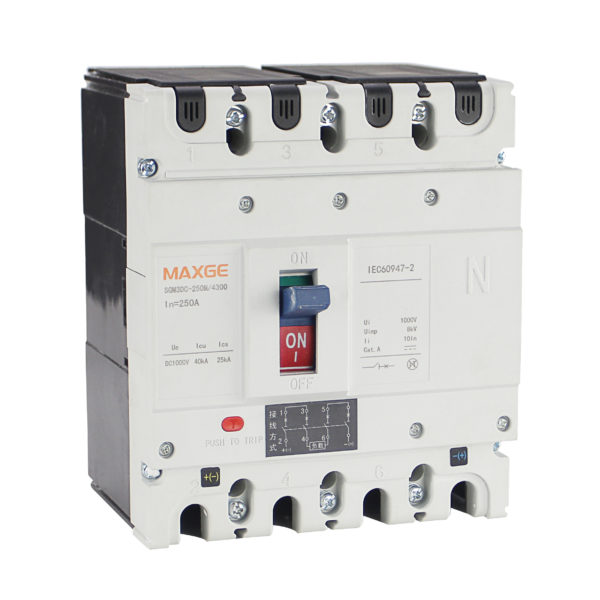 SGM3DC Interruptores en caja moldeada CC