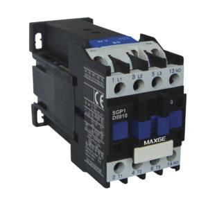Contactor tripolar con mando en DC rango 9÷95A