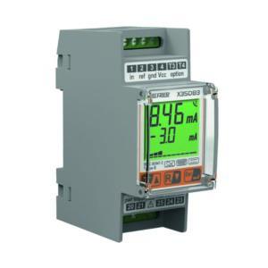 Relés diferenciales clase B modular con display LCD para continuidad del servicio
