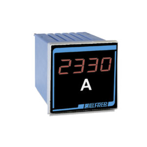 Voltimetro/Amperimetro configurable en panel