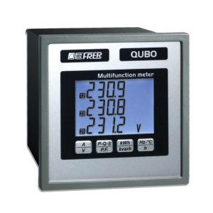 Analizador miniaturizado LCD para redes monofásicas en corriente contínua