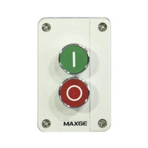 Caja de pulsador doble