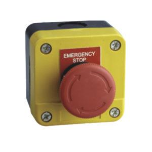 "Caja ""Paro de emergencia"""