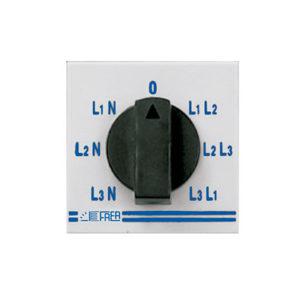 Conmutadores para voltimetros y amperimetros