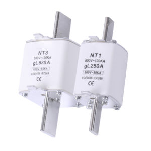 Fusible tipo NH hasta 500A - 1500VDC