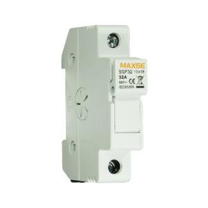 Portafusible seccionable hasta 32A - 1000VDC