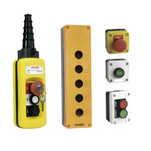 Botoneras y cajas de pulsadores