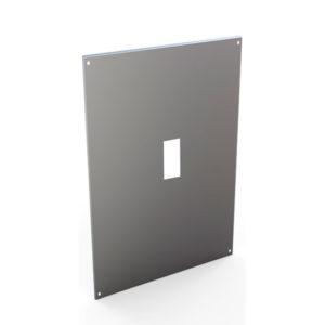 Serie ALBA. Placas frontales y soportes interiores para interruptores en caja moldeada
