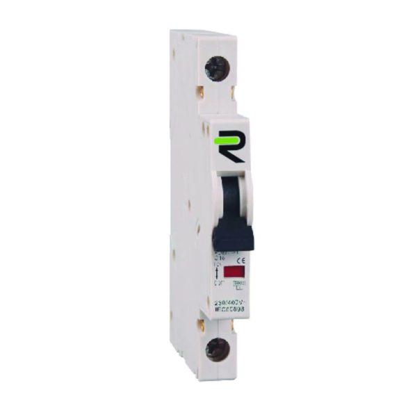 Microinterruptor automático magnetotérmico