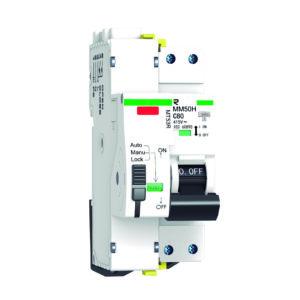 Protección combinada DPN+sobretensión permanente con reconexión automática