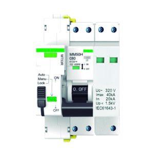 Protección combinada DPN permanente + transitoria con reconexión automática