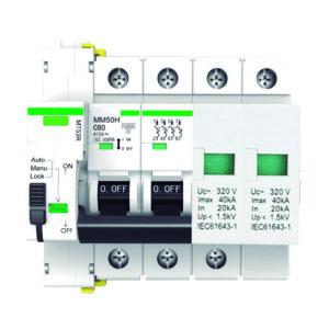 Protección combinada IGA permanente + transitoria con reconexión automática