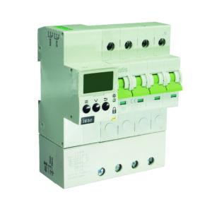 Multiprotector avanzado de instalaciones eléctricas con reconexión y RS485