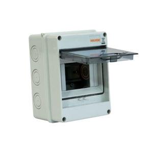 Serie ARABBA. IP54 montaje en superficie y puerta transparente