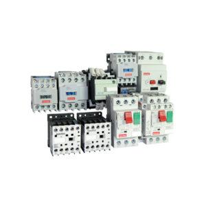 Arrancadores de motor, contactores y componentes de protección