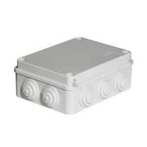 Serie CP10. Fijación de cubierta por tornillo plástico IP65 estanco