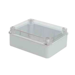 Serie CP11. Cajas de conexión transparentes sin troquelar