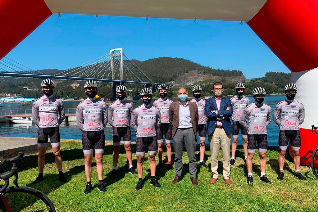 Presentacion ciclista Redondela